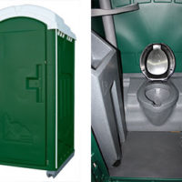 Deluxe Flush Portable Toilet
