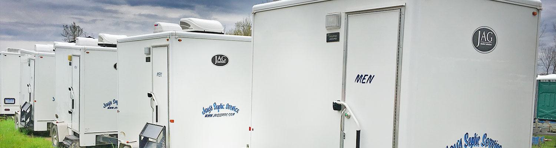 portable restroom trailer rentals