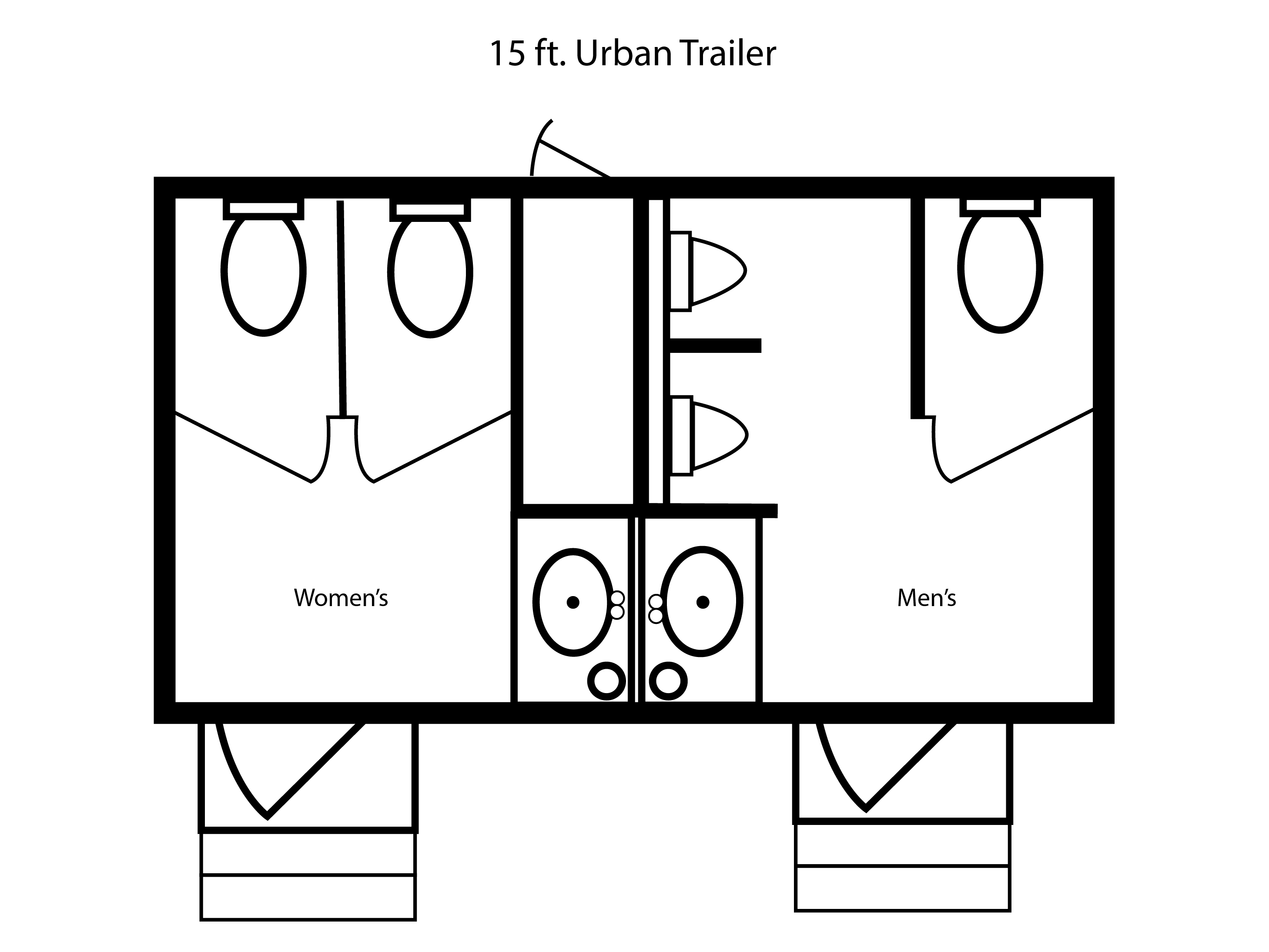 15 ft. JAG Urban Trailer