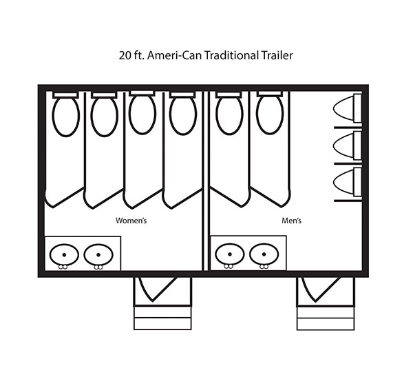20 ft. Ameri-Can Traditional Trailer