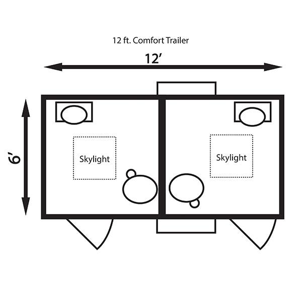12 ft. Comfort Trailer
